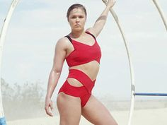 Ronda Rousey Sextastic Swimsuit Workout In Self Magazine - Egotastic