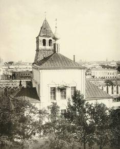 Церковь Благовещения Пресвятой Богородицы на Житном дворе (1731 г., разрушена в 1932 г.).