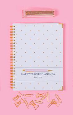 Mein Lehrerkalender 2017/2018 mit Stil und Herz. Unterrichtsplanung, Organisation und Übersichten sowie Planungs- und Dekosticker. Made in Germany.
