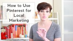 How to Use Pinterest for Local Marketing - Is Pinterest an actionable target for local marketing – and if so, how? http://www.michellemacphearson.com/use-pinterest-local-marketing/