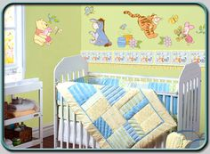 Winnie The Pooh Baby Room Everyday Treasures Wall Stickers