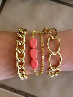 The Bora Bora Trio by elladolce on Etsy, $33.00 #fashion #gold