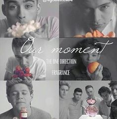 One Direction << hahaha they don't even show the weird parts of the commercial! just the nice parts ahaha