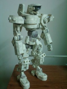 Paper Model__ Tybe B Robot ..By Saiedabdo