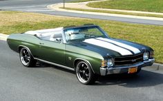 1971 Chevelle SS convertible