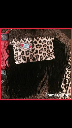 Here are some new arrivals! Accessories to compliment your outfit!! They are about to go up on the website!! This leopard & fringe clutch is available for $34 (strap is included) #turquoiseleopardboutique #newarrivals