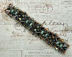 Linda's Crafty Inspirations: Clara Bracelet with Kheops beads sample