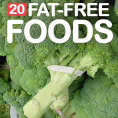20 Best Fat Free Foods To Include In Your Diet: A low fat diet will give increased protection from heart diseases, cancer and other illnesses. It also helps to lower the total calorie intake, leading to fast weight loss. Diet Foods, Diet Snacks, Healthy Snacks, Healthy Eating, Eating Raw, Fat Free Recipes, Low Calorie Recipes, Diet Recipes, Healthy Recipes