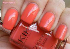 Nail Polish Kiko 419 - Coral Red