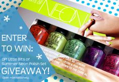 http://www.thehappysloths.com/2014/06/opi-little-bits-of-summer-neon-polish-set-giveaway.html