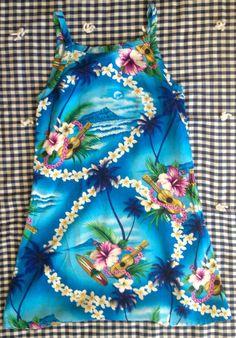Tropical Maxi Dress 5/6 by lishyloo on Etsy, $10.00