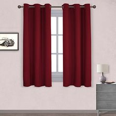 Nicetown Thermal Insulated Solid Grommet Blackout Curtain... https://www.amazon.com/dp/B01CS31PDW/ref=cm_sw_r_pi_dp_x_uYMSybNRTT3PX