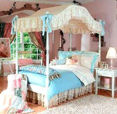 29 Best Girls Canopy Beds images | Girls canopy, Kids ...