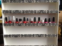 Lace n' Cakes: DIY : Nail Polish Rack!