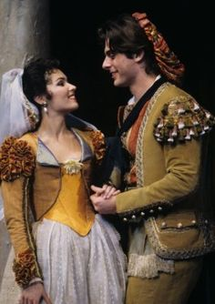 Costumes from Mozart's Marriage of Figaro