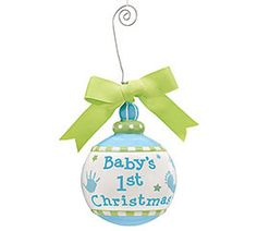 Baby's First Christmas Babys 1st Christmas, Christmas Diy, Xmas, Christmas Tree Ornaments, Christmas Decorations, Holiday Decor, Bingo Sheets, Baby Kids, Baby Boy