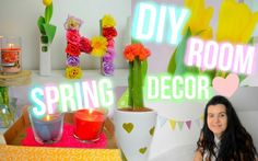 ♡ DIY Jarní Dekorace Do Pokoje 2016   DIY Spring Room Decor 2016 ♡