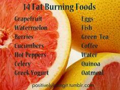 Food to kill fat