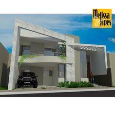 CASA BRIGITTE . BOSQUE DOS CAJUEIROS. JUAZEIRO, BA. #bymelissalopes #bymelissalopesarquitetura #arquitetura #pedireitoduplo #facade #fachada