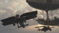 Steampunk Raid (Air Attack 2) by thehakdragon