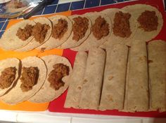 Freezer Burritos. just eliminate beans and make cheese whole fat. Use low carb tortillas