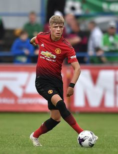 Brandon Williams of Manchester United during the NI Super Cup gala match between Manchester United and Celtic at Coleraine Showgrounds on July 2018 in Coleraine, Northern Ireland. Manchester United Wallpaper, Manchester United Players, Soccer Boys, Nike Soccer, Soccer Cleats, Barcelona Soccer, Fc Barcelona, Man Utd Fc, Sports
