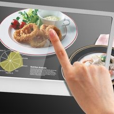 you are going to cook food through screens