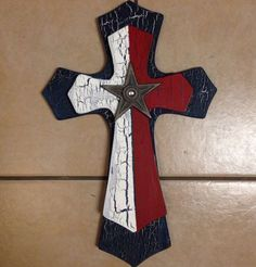 Express your love for Christ. Red white and blue and a star Measures14x19 Come like us on Facebook
