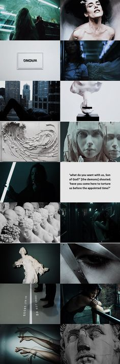 modern aesthetics: demons/fallen angels