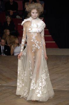 Alexander McQueen at Paris Fashion Week Spring 2007