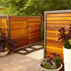 Fence Design Ideas, Pictures, Remodel, and Decor - page 20