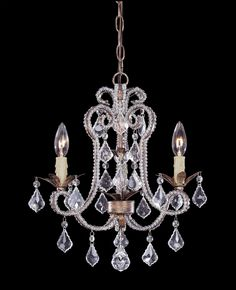 Mini Chandeliers-Candle