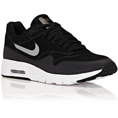 Nike Women's Air Max 1 Ultra Moire Sneakers (7.440 RUB) ❤ liked on Polyvore featuring shoes, sneakers, nike footwear, nike sneakers, nike trainers, nike and low profile sneakers
