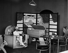 This Was The Nursery of The Future in 1930. See http://paleofuture.gizmodo.com/this-was-the-nursery-of-the-future-in-1930-1578747353