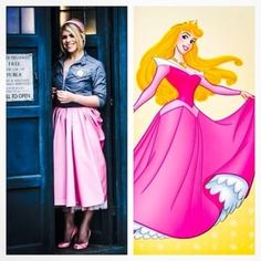 "And Now For ""Doctor Who"" Companions And Their Disney Princess Counterparts"