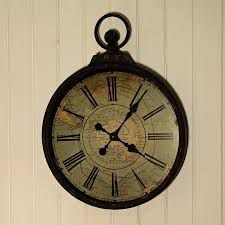 Large Wall Clocks Over 25 Inches In Diameter   The Clock Depot |  Accessories U0026 Decor ~ For The Home | Pinterest | Wall Clocks, Clocks And  Walls