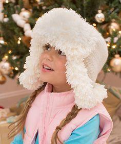 dac8d4a04aa5a2 Ravelry: Snowy Child Earflap Hat pattern by Lorna Miser Crochet Yarn, All  Free Crochet