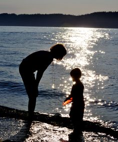 Communication~ mother and son