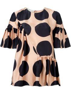 Stella McCartney dot pattern top