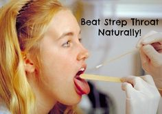 Beat strep throat with no antibiotics.  It's not as hard as you might think! #health #wellness #strepthroat #homeremedies #antibiotics #healthyliving