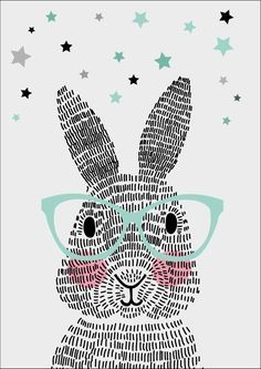 Poster Mr. Rabbit A4