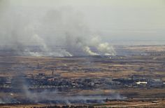 Projectile from Syria hits Israeli-occupied Golan