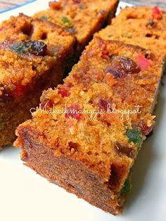 English Fruit Cake Recipe, Light Fruit Cake Recipe, Boiled Fruit Cake, Banana Walnut Cake, Bolu Cake, Orange Sponge Cake, Fresco, Cake Recipes, Snack Recipes