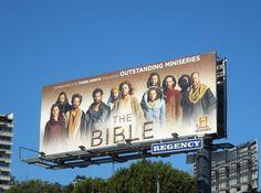 The Bible - Emmy Award 2013 nomination billboards...
