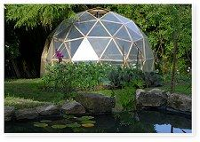 Geodesic dome kits