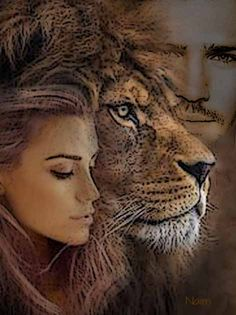 A Small Simple Church by Deborah Waldron Fry Lion Profile, Judah And The Lion, Lion Images, Lion Love, Spiritual Warrior, Lion Wallpaper, Le Roi Lion, Bride Of Christ, Prophetic Art