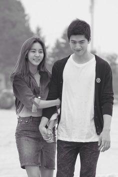 Uee & Sung Joon for High Society