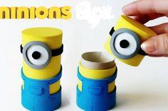 Fabriquez de mignonnes boites de Minions avec des matériaux simples!