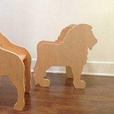 CHILD'S LION ANIMAL CHAIR- your choice of color by Paloma's Nest   Paloma's Nest