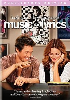 "New to the Library! August 2016 ""Music and Lyrics"" [DVD videorecording]"